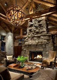 Ski Lodge Interior Design A Family Lodge In The Montana Mountains Hooked On Houses