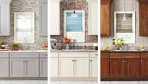 which kitchen cabinets are better lowes or home depot three kitchen makeovers