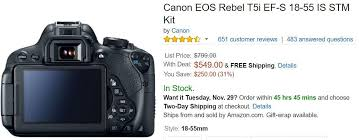 canon rebel t5 black friday black friday u0027 2016 best camera deals kohl u0027s target sam u0027s club