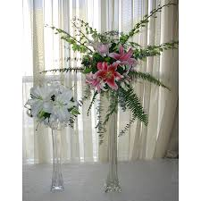 wholesale flowers and supplies floral arrangement exle glass eiffel tower vase with