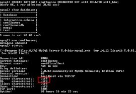 Mysql Change Table Collation Configuring Database Character Encoding Atlassian Documentation