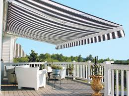 Outdoor Shades For Patio by Control Sun And Shade With A Retractable Awning For Your Backyard
