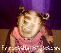 Toddler Hairstyles For Girls by Toddler Hairstyles Elastic Braid Pigtails Hairstyles For Girls