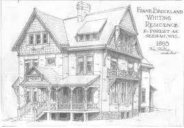 Queen Anne Style House Plans William Waters Oshkosh Architect Neenah Residences Part Three