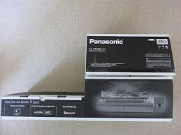 home theater panasonic panasonic sc htb488 home theater audio system in wimborne