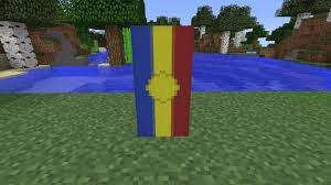 Andorra Flag How To Make The National Flag Of Andorra And Minecraft Youtube