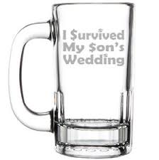 i survived my s wedding 12oz mug stein glass i survived my s wedding of