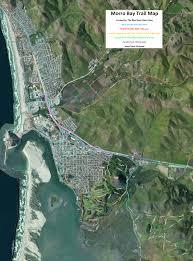 La Traffic Map Morro Bay Cerro Cabrillo State Park Bike Trail Recreation Map