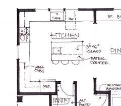 kitchen island plan planning a kitchen island kitchen island with seating width