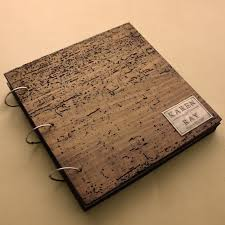 personalized scrapbook album 66 best photo albums images on leather photo albums