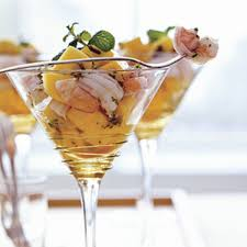 martini mango shrimp and mango cocktail rachael ray every day