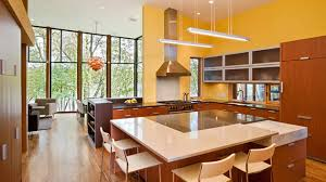 orange kitchen ideas 15 yellow modular kitchen ideas home design lover