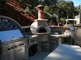 Brick Oven Backyard by 131 Best Outdoor Kitchens Or Pizza Ovens Images On Pinterest