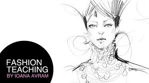 how to draw faces in fashion illustration youtube