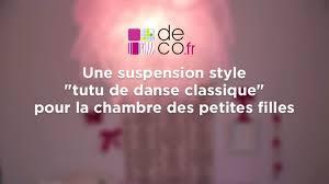 chambre de danseuse une suspension tutu pour la chambre des petites filles sur