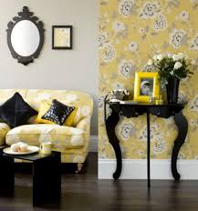 black and white living room furniture how to decorate with black white yellow