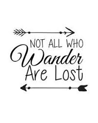 not all those who wander are lost tattoo tattoo u0026 piercing