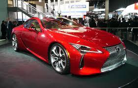 lexus lc 500 release date 2016 detroit auto show exotic car list