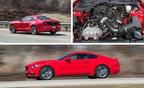 review of 2015 ford mustang 2015 ford mustang v 6 test review car and driver