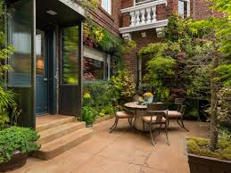 Courtyard Garden Ideas Paver Patios Hgtv