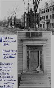 federal style house plans newburyport preservation trust newburyport architecture