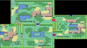 safari zone map kanto safari zone wiki