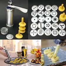 kitchen gun vktech cookie press machine biscuit cake making decorating gun