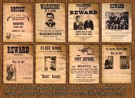 7 best old west wanted posters images on pinterest 50th birthday