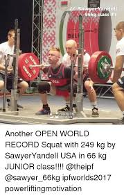 Bench Press Records By Weight Class 25 Best Memes About Ipf Ipf Memes