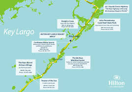 Map Florida Keys by Offsite Activities Hilton Key Largo Resort