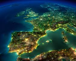 Sattelite World Map by 19 Incredible Artificial Satellite Photos Of Earth At Night