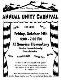 carnival black friday sale annual unity carnival