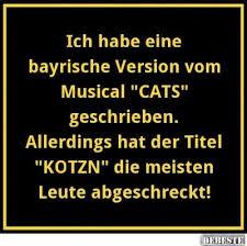bayrische sprüche die bayrische version cats lustige bilder sprüche witze