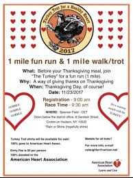 turkey trot for a healthy
