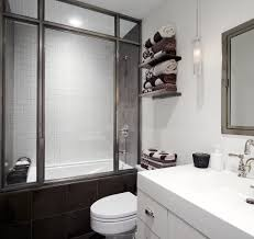 shower enclosures ideas bathroom industrial with gray tile shower shower enclosures ideas bathroom contemporary with shower over bathtub towel storage pendant light