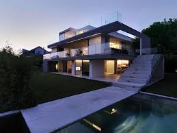 contemporary lake house in swiss by gus wustemann playuna