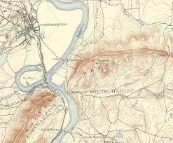map of northton ma northton amherst hadley usgs topo map massachusetts