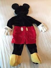 mickey mouse toddler costume mickey mouse toddler costume size 18 months disney resort costume ebay