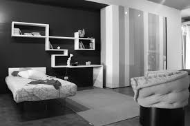 Black And White Stripped Rug Decorative Wall Shelving Ideas Black And White Bedframe Black And