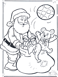 claus coloring pages christmas