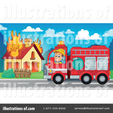 Bus Clipart Firefighter Pencil And In Color Bus Clipart Firefighter
