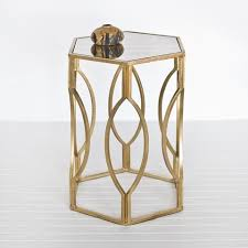 Bronze Accent Table 5 Interesting And Geometric Side Tables