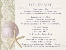 Wedding Itinerary Wedding Agenda Sample Wedding Reception Program Sample Weddings