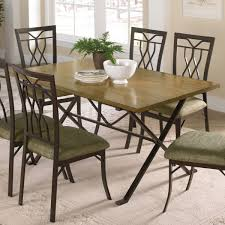 sturdy dining room chairs furniture sturdy emerson rustic trestle with solid wood material