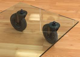 tavolo con ruote coffee table designed by gae aulenti for fontana