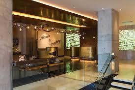 Hotel Lobby Reception Desk by Renaissance New York Midtown Hotel Hotels In Manhattan New