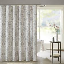 Shower Curtain Blue Brown Modern Geometric Shower Curtains Allmodern