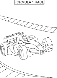 racing car colouring colouring pages coloring page