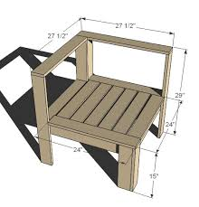 ana white corner and ends for outdoor sectional diy projects