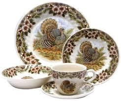 discontinued churchill china thanksgiving turkey dinnerware